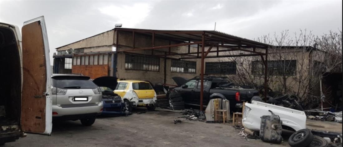 Εξαρθρώθηκε μεγάλη σπείρα κλεφτών αυτοκινήτων – Πάνω από 2.000.000 ευρώ ήταν τα κέρδη τους/ΒΙΝΤΕΟ