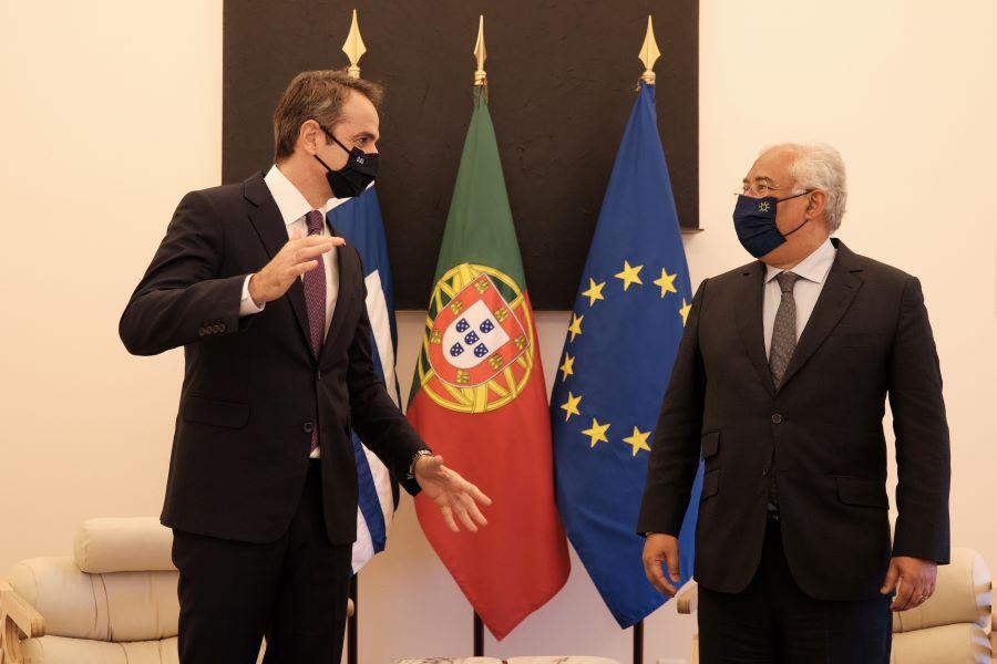 Ο Μητσοτάκης στη Λισαβόνα: Επισκέφθηκε την έδρα της Ακτοφυλακής της Πορτογαλίας και τον Ευρωπαϊκό Οργανισμό για την Ασφάλεια στη Θάλασσα –  Οι δηλώσεις των δύο πρωθυπουργών ΒΙΝΤΕΟ – ΦΩΤΟ