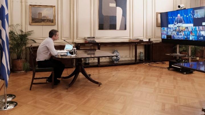 Κυρ. Μητσοτάκης στη Σύνοδο Κορυφής: Ανάγκη επίσπευσης της αδειοδότησης εμβολίων