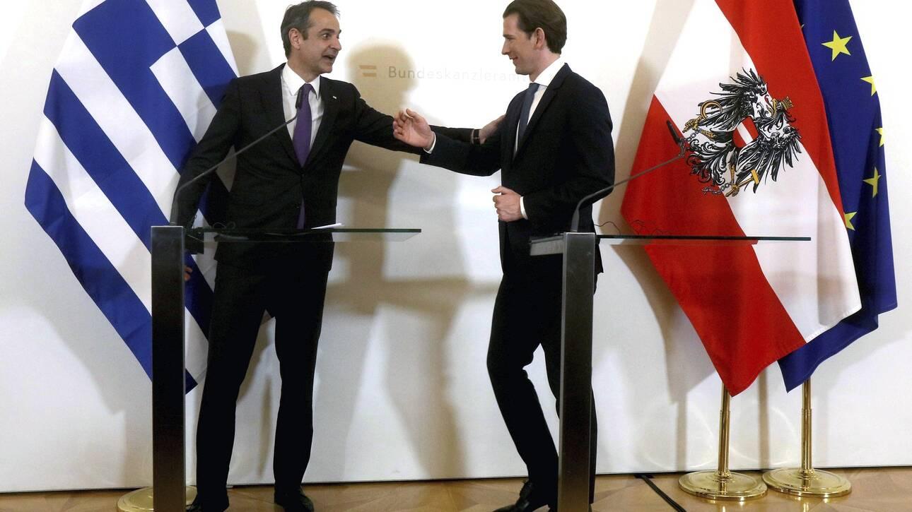 Τηλεδιάσκεψη Μητσοτάκη με ευρωπαίους ηγέτες για την αντιμετώπιση της πανδημίας