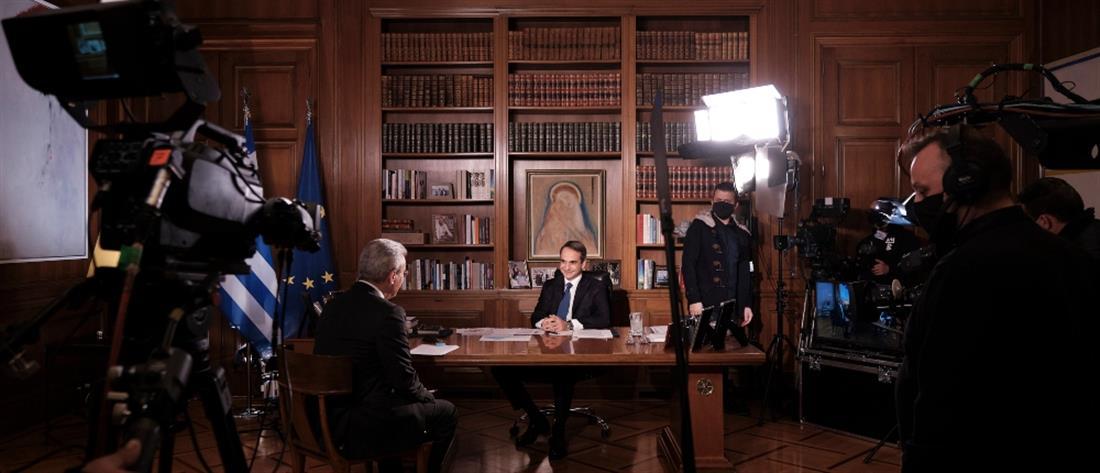 Μητσοτάκης : Η κυβέρνηση θα εξαντλήσει την τετραετία – Επιθυμία να ανοίξει η αγορά έστω και με click away /ΒΙΝΤΕΟ