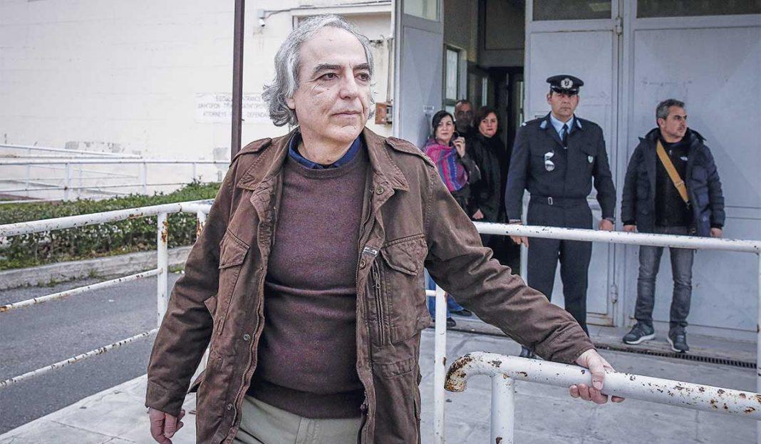 Αρνείται την ιατρική ανάνηψη ο Δημήτρης Κουφοντίνας – Διέκοψε την αντιβίωση