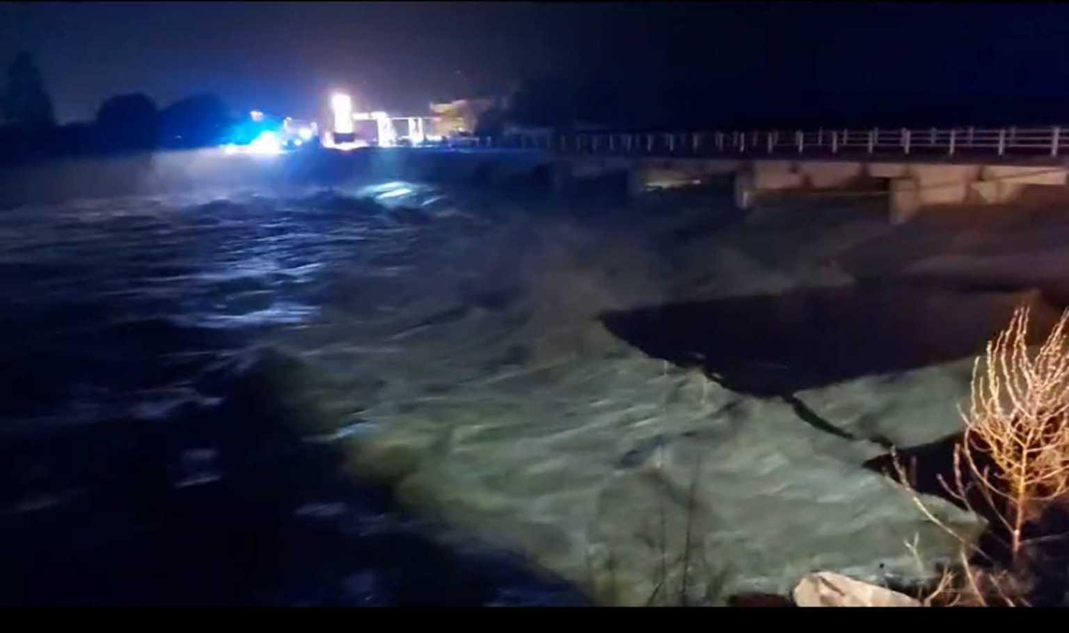 Λέσβος: Μεγάλα προβλήματα από την έντονη βροχόπτωση /ΒΙΝΤΕΟ
