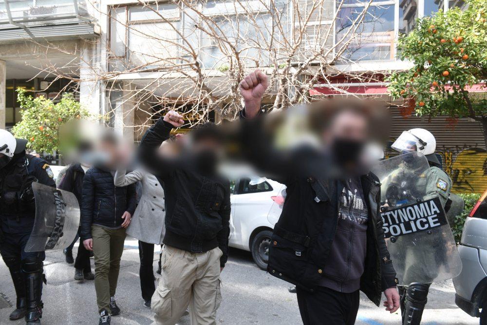 Δεκάδες συλλήψεις για την κατάληψη υπέρ του Κουφοντίνα- Ανάμεσά τους και γιος βουλευτή – Σε βάρος τους σχηματίστηκε δικογραφία