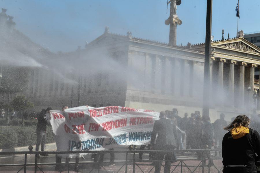 Αυτή είναι η ανακοίνωση της αστυνομίας για τη συγκέντρωση για τον Κουφοντίνα στην Αθήνα – 29 προσαγωγές – Προσήχθη και ο Έκτορας Κουφοντίνας