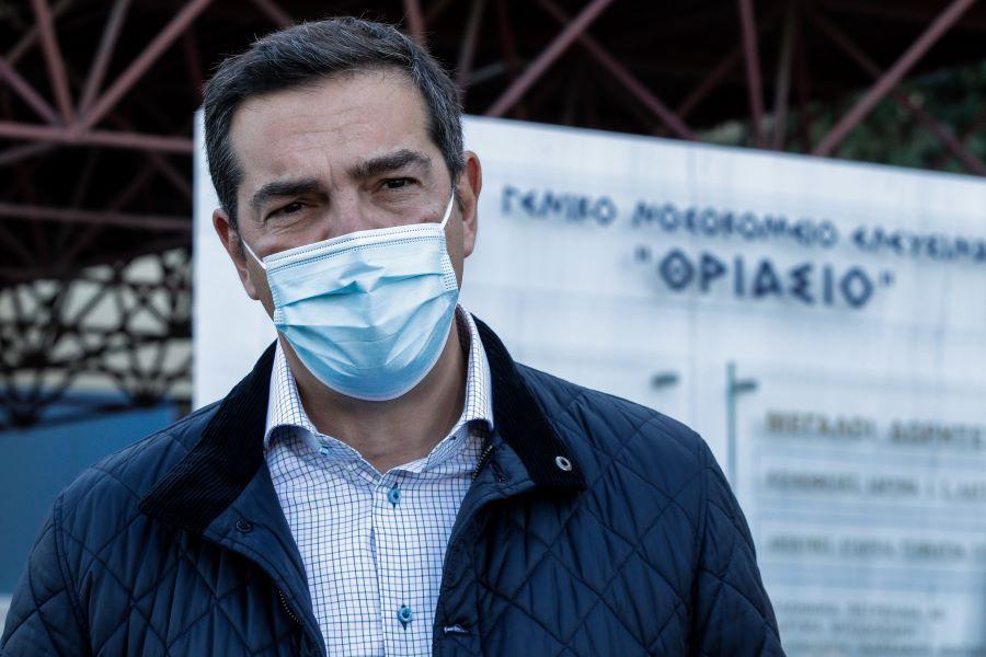 Τσίπρας από το Θριάσιο νοσοκομείο: Η κατάσταση είναι ξανά δραματική – Αυτή τη φορά δεν υπάρχουν δικαιολογίες – ΒΙΝΤΕΟ – ΦΩΤΟ