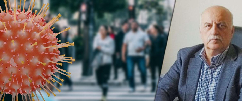 """Ν. Τζανάκης: Κορύφωση της πανδημίας εντός της εβδομάδας – """"Φρενάρουν"""" την αποκλιμάκωση οι μεταλλάξεις"""