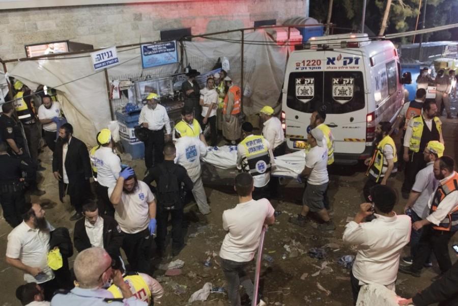 Γιγαντιαίο ποδοπάτημα στο Ισραήλ: Τουλάχιστον 44 νεκροί σε θρησκευτική γιορτή – ΒΙΝΤΕΟ – ΦΩΤΟ