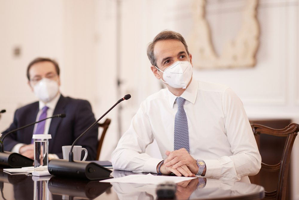 Μητσοτάκης: Στόχος το ασφαλές Πάσχα -Φρένο στις πρόωρες εκτιμήσεις για τα μέτρα – Το οκτάωρο παραμένει κατοχυρωμένο