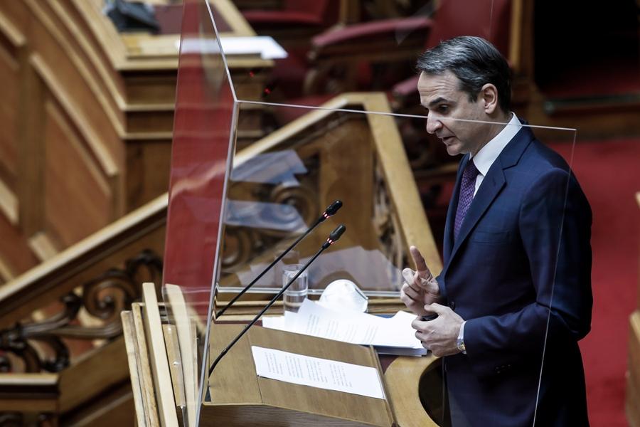 "Live Βουλή: Σύγκρουση αρχηγών για πανδημία – οικονομία – Μητσοτάκης: ""Μιλάμε για αναπροσαρμογή, όχι άνοιγμα"""
