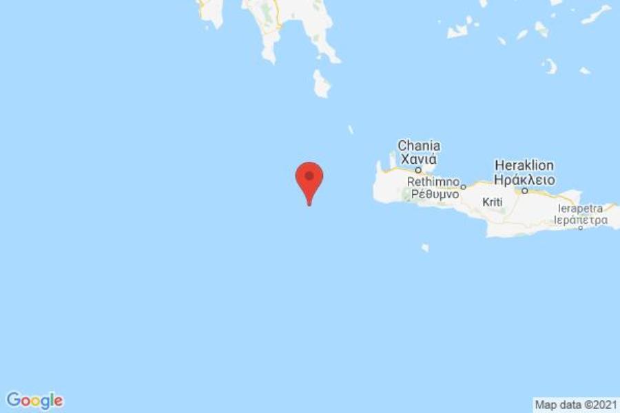 Κρήτη: Ισχυρή σεισμική δόνηση 4,7 βαθμών αναστάτωσε το πρωί τους κατοίκους των Χανίων