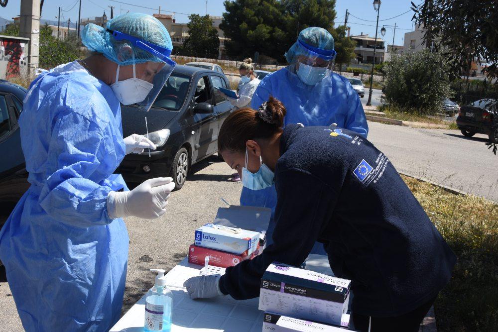 Κορονοϊός: 3.789 κρούσματα – 847 διασωληνωμένοι – 87 θάνατοι