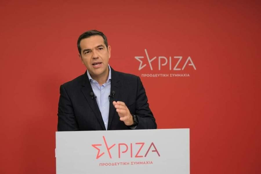 Τσίπρας: Ο κ. Μητσοτάκης είναι σε βέρτιγκο-Δε θα εξαντλήσει την τετραετία