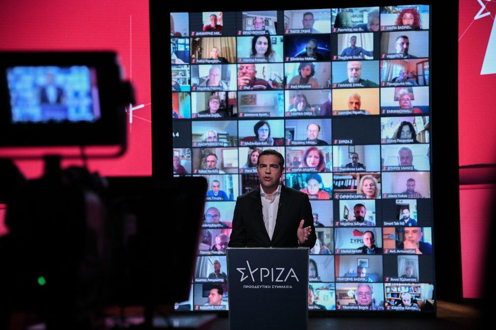 Ο Τσίπρας παρουσίασε το οικονομικό πρόγραμμα του ΣΥΡΙΖΑ: Προτείνει 120 δόσεις και κούρεμα ως 60% του χρέους της πανδημίας /ΒΙΝΤΕΟ