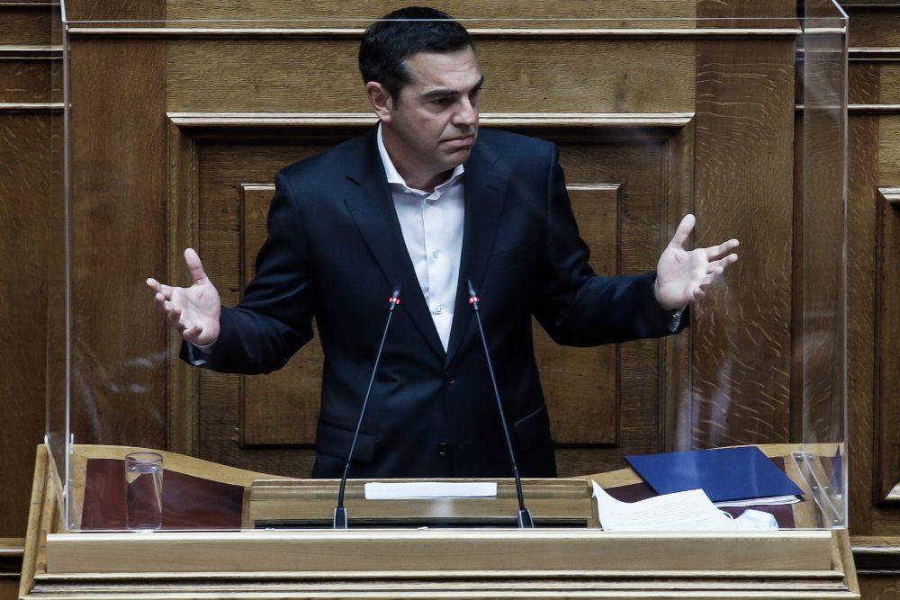 A. Τσίπρας: Ο κ. Μητσοτάκης έχει πια κουράσει με τις αντιφάσεις και τις αυτοδιαψεύσεις του