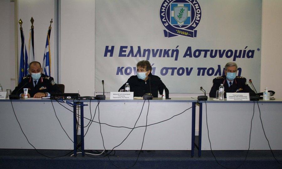 επίσκεψη Χρυσοχοΐδη στη Θεσσαλονίκη