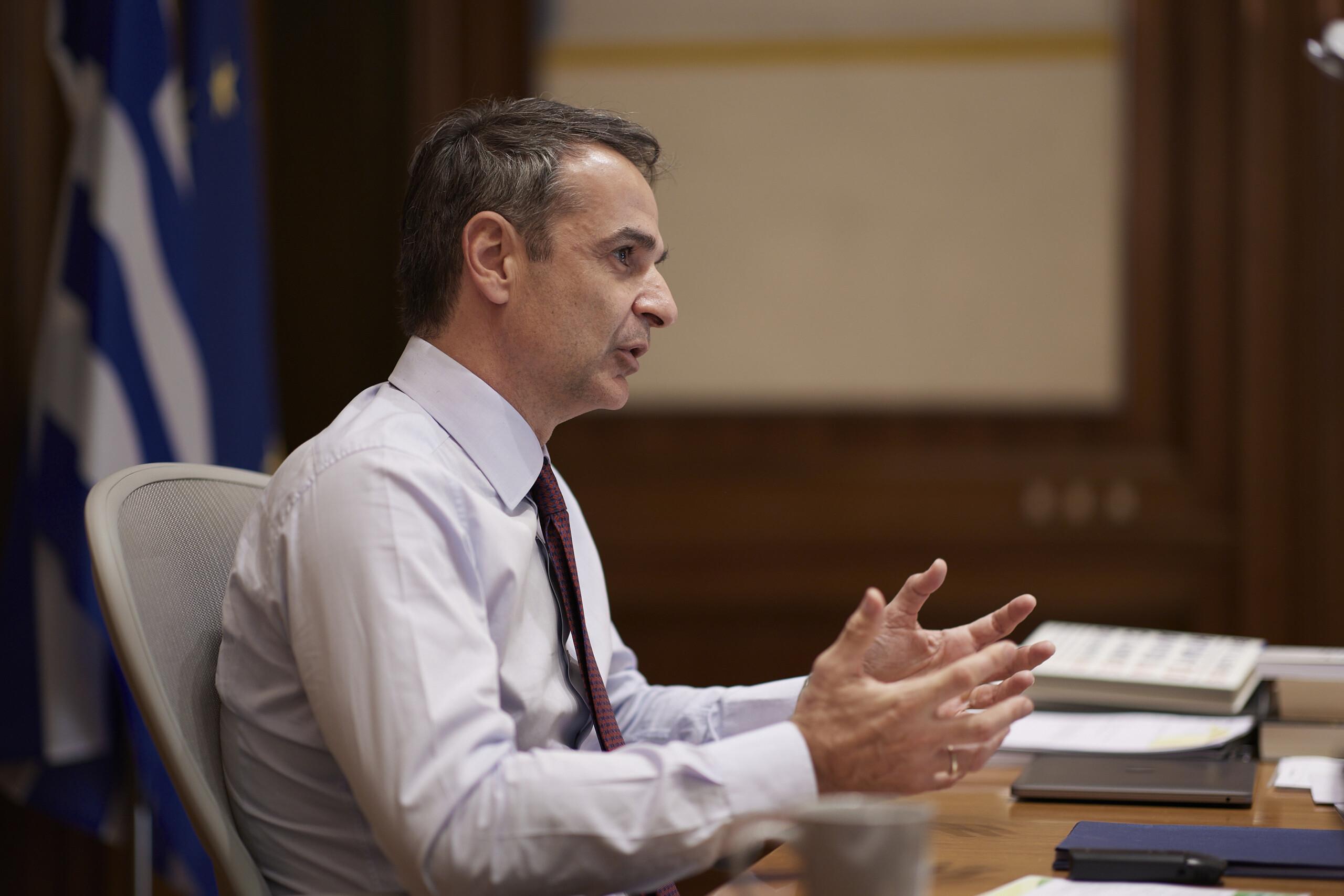 """Μητσοτάκης: """"Ελλάδα και Γερμανία δεν έχουν πλέον σχέση οφειλέτη – πιστωτή"""""""