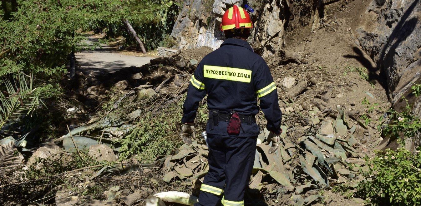 Πιερία: Ζωντανές τρεις μέρες μετά από πτώση σε χαράδρα μητέρα και κόρη