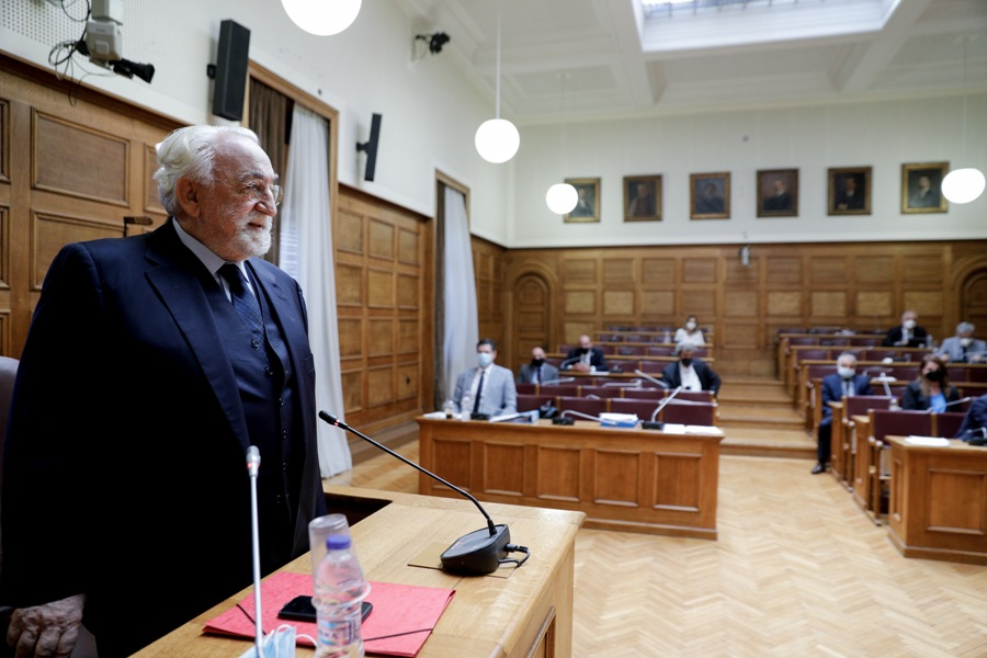 Τα SMS του Νίκου Παππά με τον «κόκκινο εργολάβο» – Τι λέει στη δεύτερη μέρα κατάθεσής του ο Χρήστος Καλογρίτσας – Οι καταγγελίες του πρώην υπουργού για «κόψιμο» πρακτικών