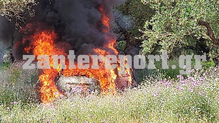 Ζάκυνθος: Βρέθηκε και δεύτερο καλάσνικοφ στο κλεμμένο όχημα των δολοφόνων του επιχειρηματία /ΒΙΝΤΕΟ