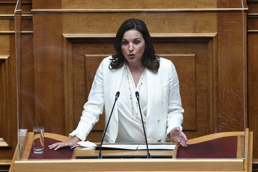 'Ολγα Κεφαλογιάννη : Ισχυρή αντίδραση για το νομοσχέδιο της συνεπιμέλειας – Αντί να ενώνει διχάζει