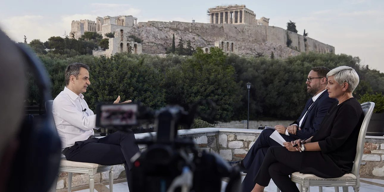 Κυρ. Μητσοτάκης στην Bild: Η Ελλάδα του 2021 δεν έχει καμία σχέση με την Ελλάδα του 2015 ή του 2010- Είναι μια διαφορετική χώρα