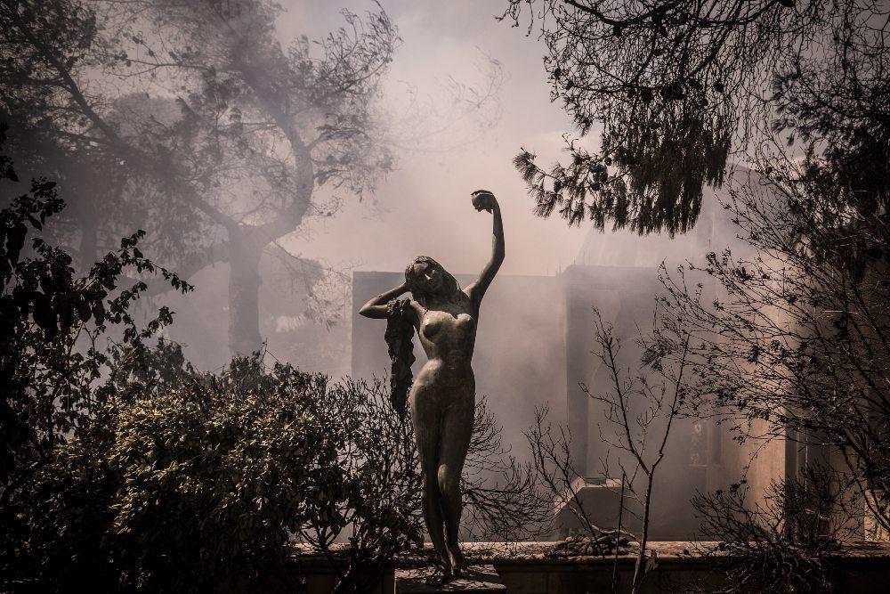 Φωτιά στα Γεράνεια Όρη: Κρανίου τόπος –  Δεν ξεκίνησε από αμέλεια η πυρκαγιά