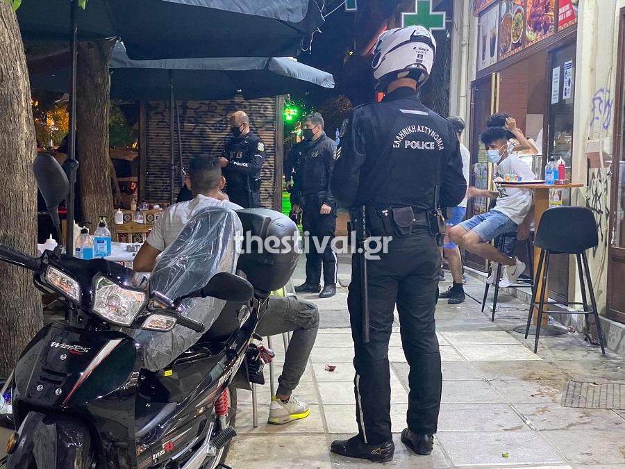 Θεσσαλονίκη: Αιματηρό επεισόδιο μεταξύ αλλοδαπών – Έβγαλαν μαχαίρια /ΒΙΝΤΕΟ, ΦΩΤΟ