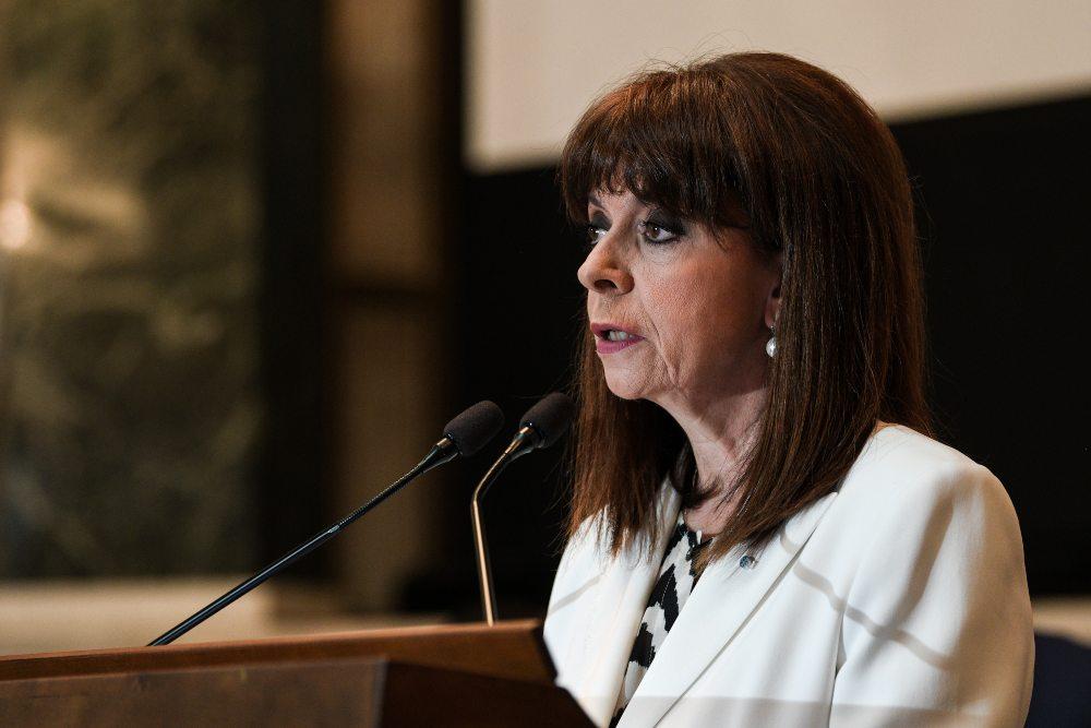Κ. Σακελλαροπούλου: Μετά την πανδημία ο κόσμος δεν θα είναι πια ο ίδιος για τις γυναίκες