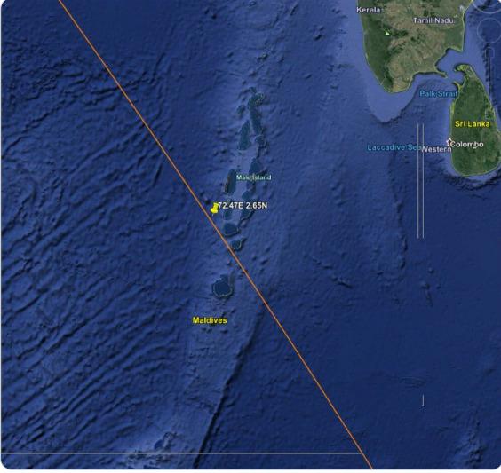 """Ληξη συναγερμού: Στον Ινδικό Ωκεανό έπεσε … """"Η Μεγάλη Πορεία"""" /ΒΙΝΤΕΟ"""