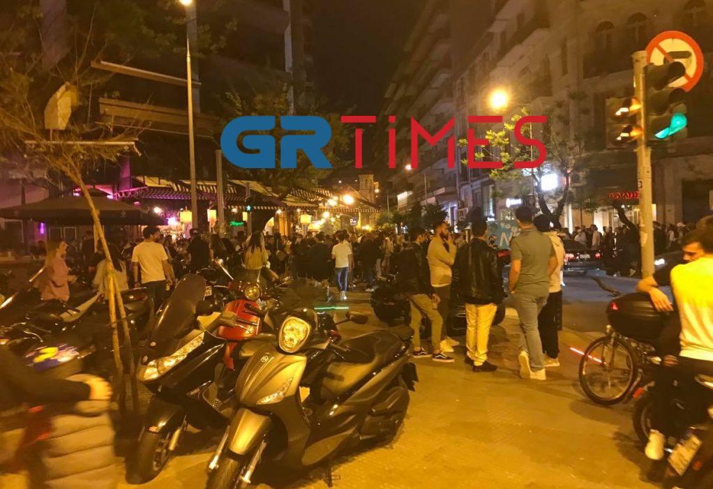 συνωστισμός Θεσσαλονίκη