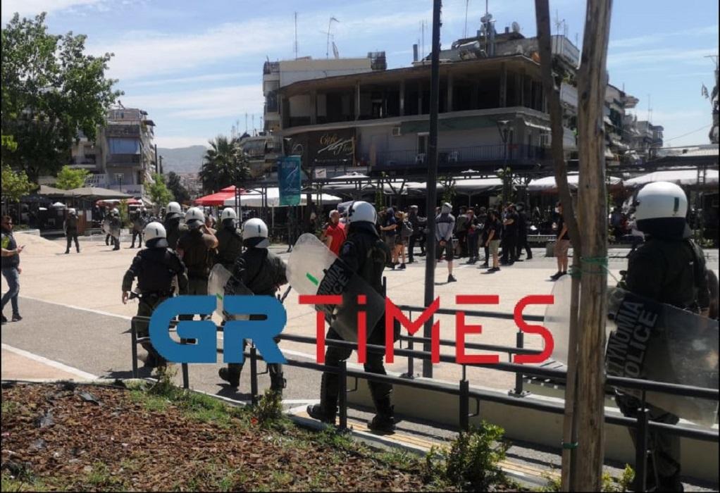 Θεσσαλονίκη: Ένταση μεταξύ δυο συγκεντρώσεων /ΒΙΝΤΕΟ
