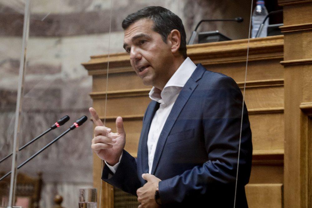 """Αλ. Τσίπρας: Ιδιότυπο «κοινοβουλευτικό πραξικόπημα"""" η διαχείρηση της πανδημίας από την κυβέρνηση – Πελώνη: Νέο παραλήρημα Τσίπρα"""