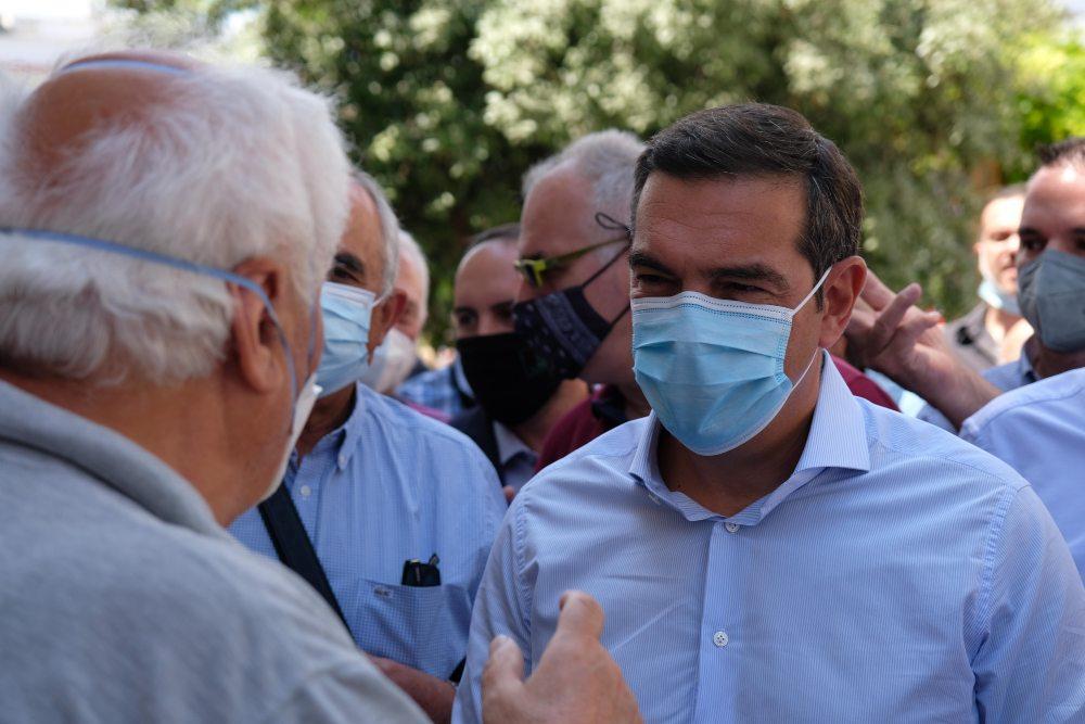 Αλ. Τσίπρας από Χαλκίδα: Οι εργαζόμενοι να απαντήσουν με αγώνα στην κυβέρνηση του κ. Μητσοτάκη