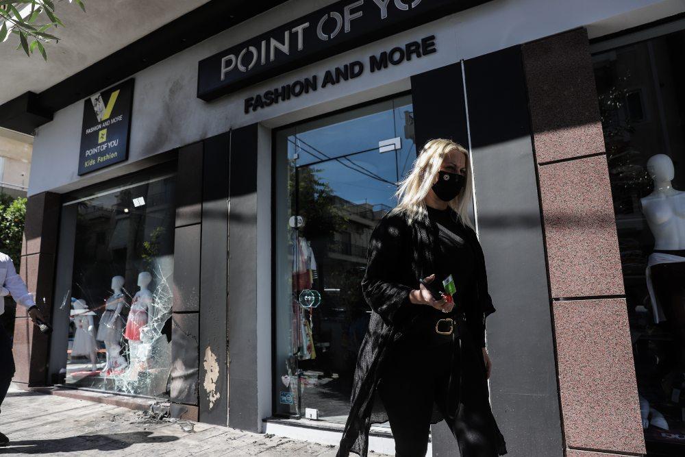 Ανάληψη ευθύνης για επίθεση σε καταστήματα της συζύγου του Χαρδαλιά