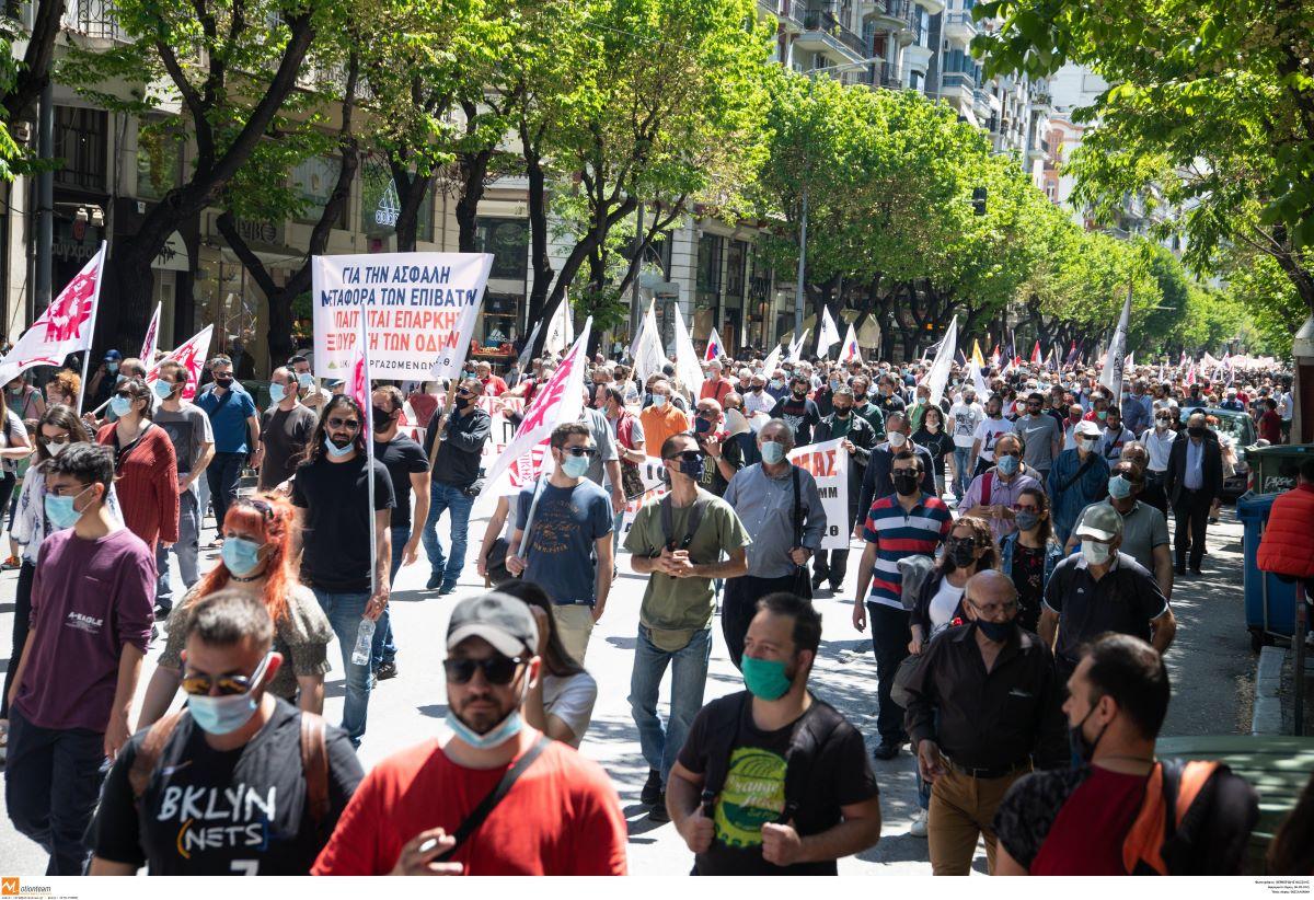 """Αστική ευθύνη: Συνδικαλιστές θα πληρώνουν τα """"σπασμένα"""" των απεργιών"""