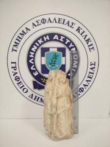 Θεσσαλονίκη: Στον ανακριτή οι συλληφθέντες για αρχαίο αγαλματίδιο