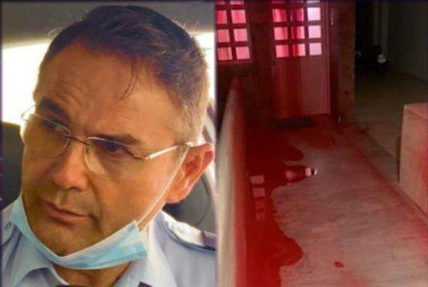 Σταύρος Μπαλάσκας: Επίθεση με μπογιές στο σπίτι του συνδικαλιστή της ΕΛΑΣ