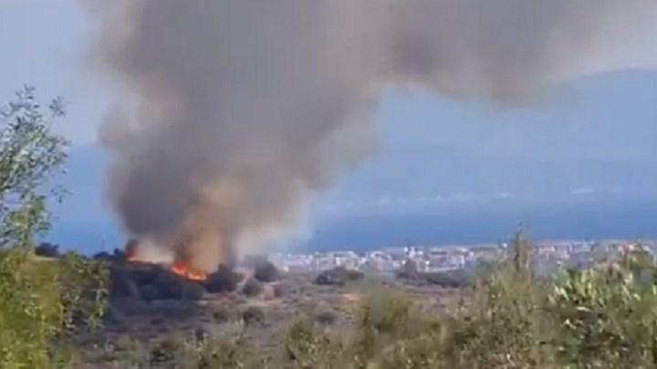 Συναγερμός στην Πυροσβεστική για φωτιά στην Αίγινα – Μεταβαίνουν δυνάμεις και από τον Πειραιά – Το βίντεο που ανάρτησε ο Βαρουφάκης