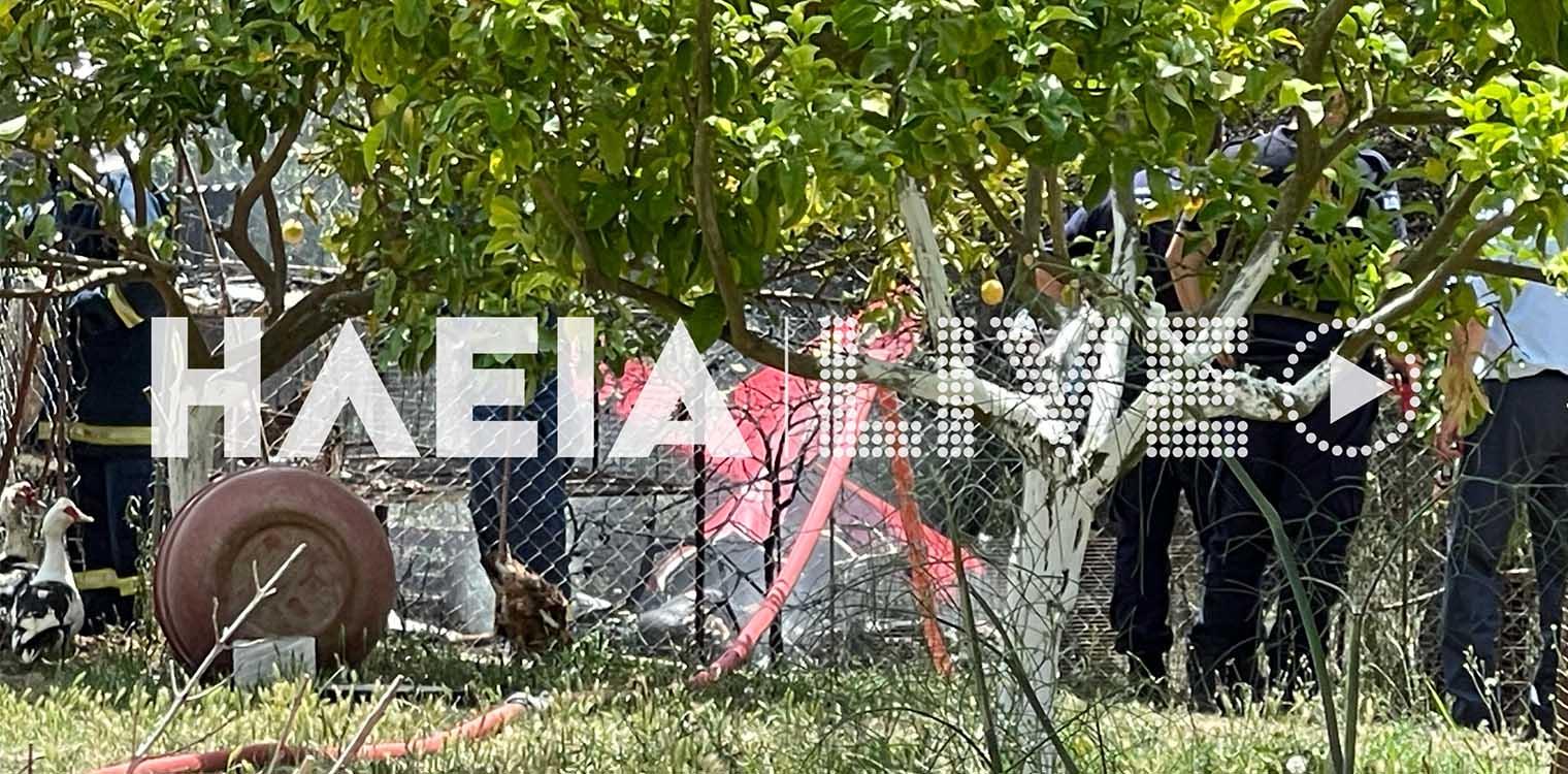 Συναγερμός στην Ηλεία: Μονοκινητήριο αεροσκάφος έπεσε στο χωριό Χαριά – Nεκρoί ο πιλότος και ο συνεπιβάτης – BINTEO – ΦΩΤΟ