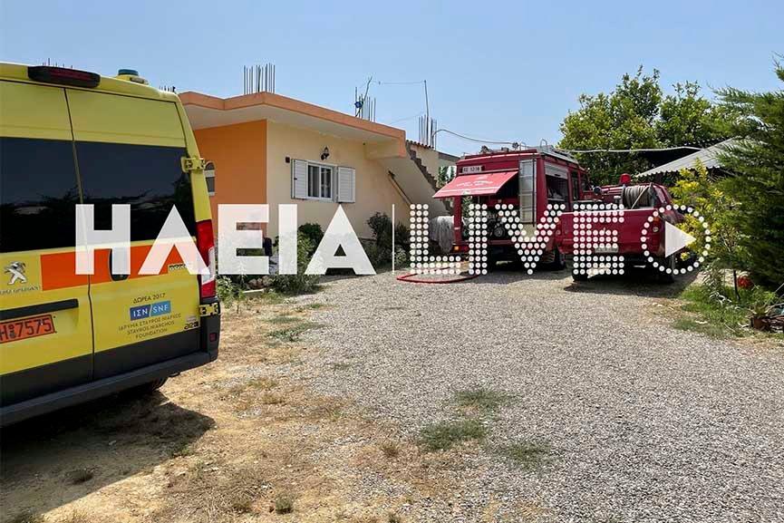 Συναγερμός-Ηλεία: Μονοκινητήριο αεροσκάφος έπεσε στο χωριό Χαριά