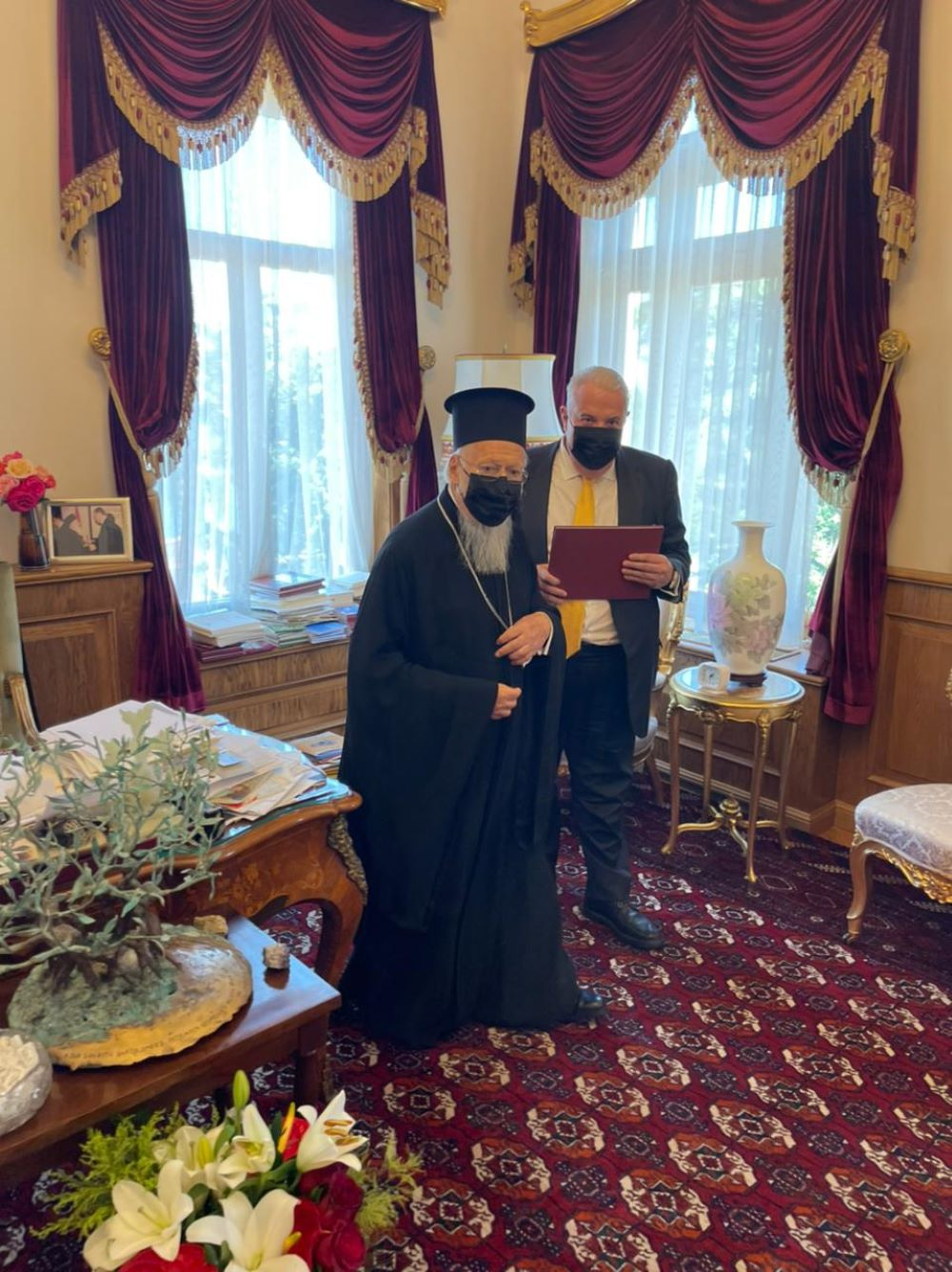 Κεχαγιόγλου: Στην Κωνσταντινούπολη για γιορτή Πατριάρχη Βαρθολομαίου