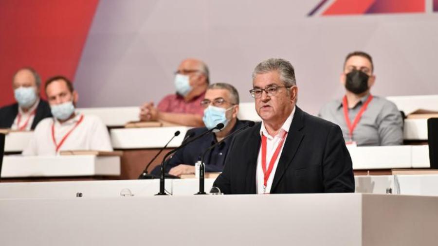 ΚΚΕ: Επανεξελέγη γραμματέας ο Κουτσούμπας – Ολοκληρώθηκε το 21ο συνέδριο – ΒΙΝΤΕΟ