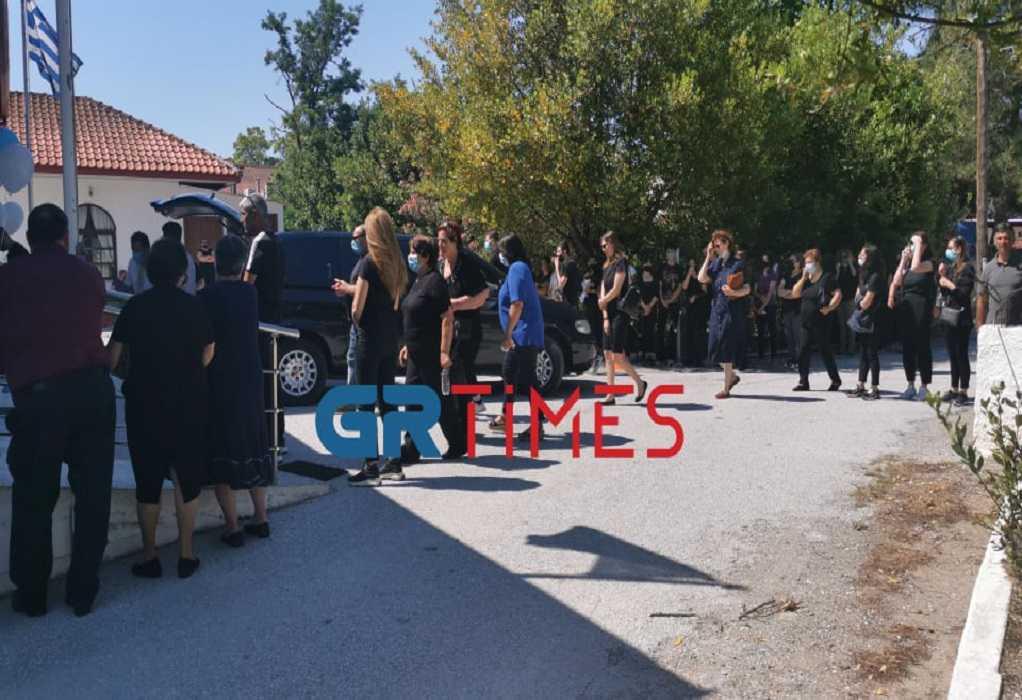 Μάλγαρα: Κηδεία μικρού Γιωργάκη