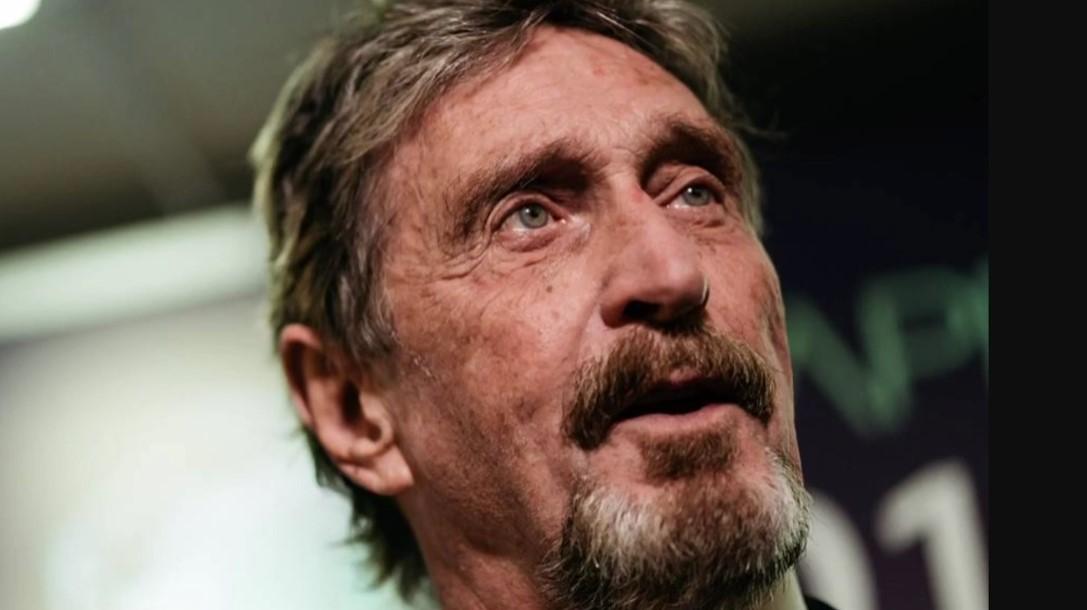 Τζον ΜακΆφι: Νεκρός στο κελί του ο δημιουργός του γνωστότερου antivirus – Λίγο νωρίτερα η ισπανική δικαιοσύνη ενέκρινε την έκδοσή του στις ΗΠΑ – BINTEO