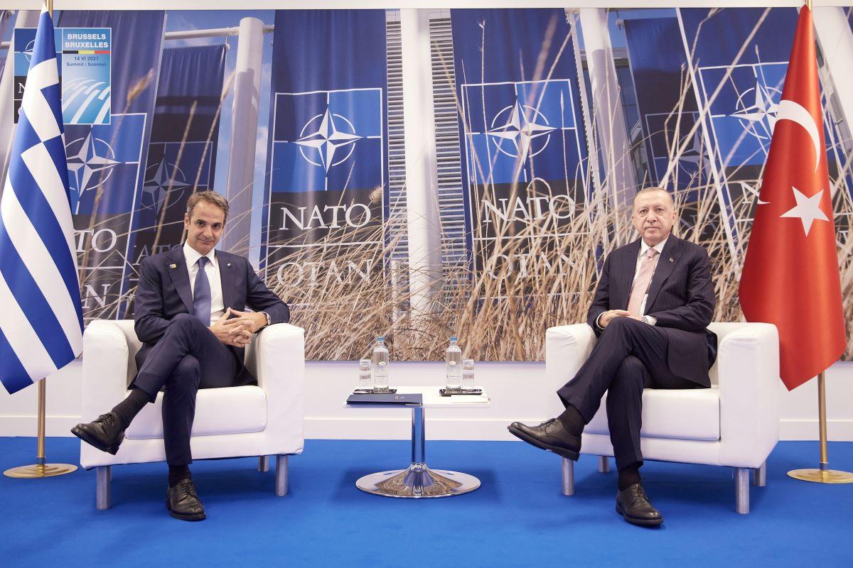 ΝΑΤΟ: Tι συζήτησαν Μητσοτάκης-Ερντογάν στις Βρυξέλλες – Το παρασκήνιο της συνάντησης των 50 λεπτών – ΦΩΤΟ – ΒΙΝΤΕΟ