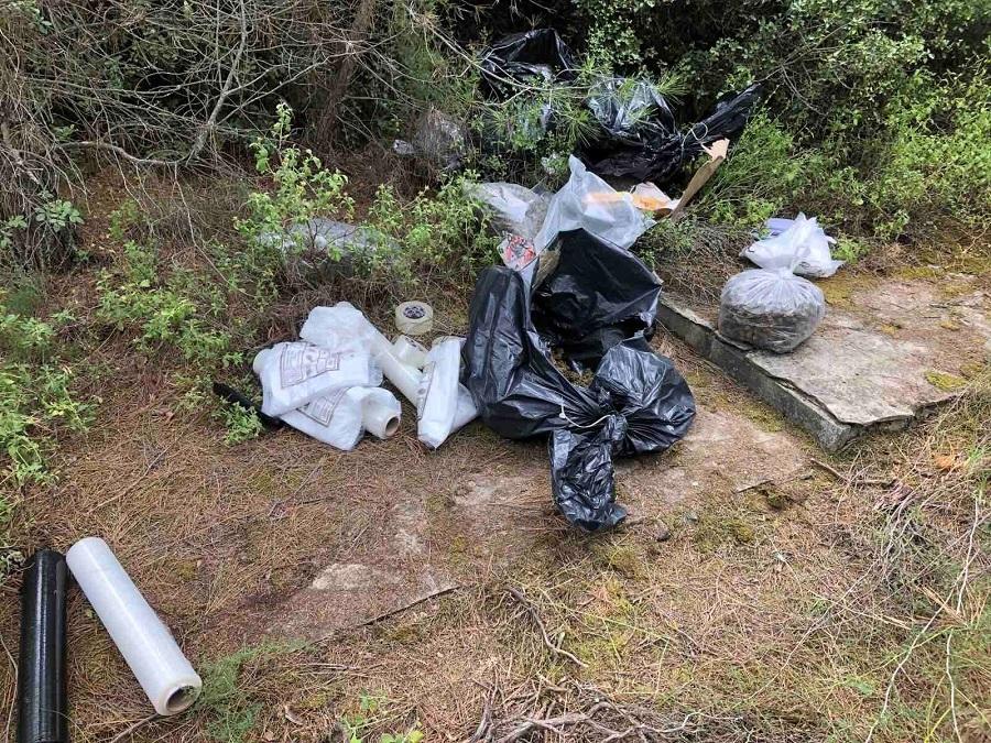 Θεσσαλονίκη: Έκρυβαν ναρκωτικά στο δάσος του Σέιχ Σου – Τί εντόπισε μετά από επιχείρηση η ΕΛΑΣ – ΦΩΤΟ