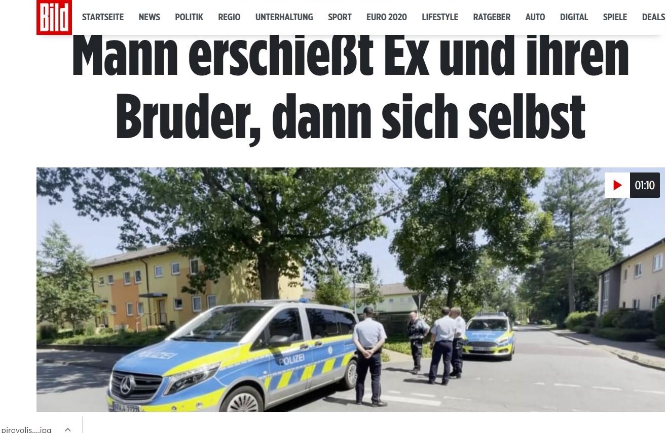 Πυροβολισμοί στη Γερμανία: Άνδρας σε αμόκ σκότωσε έναν άνδρα και μια γυναίκα και εξαφανίστηκε