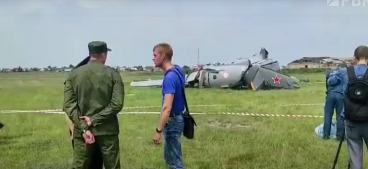 Ρωσία: Συνετρίβη αεροπλάνο – 9 νεκροί και πολλοί τραυματίες – ΒΙΝΤΕΟ