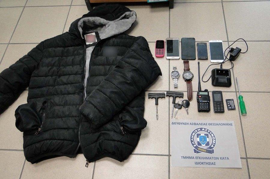 """Θεσσαλονίκη: Δίδυμο διαρρηκτών """"ρήμαζε"""" καταστήματα – Είχαν ανατινάξει ΑΤΜ – ΒΙΝΤΕΟ – ΦΩΤΟ"""